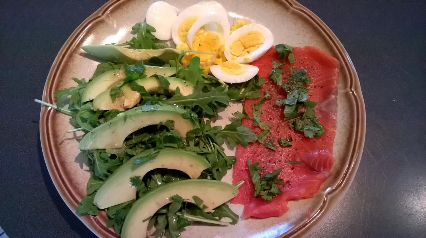 Salade-déjeuner